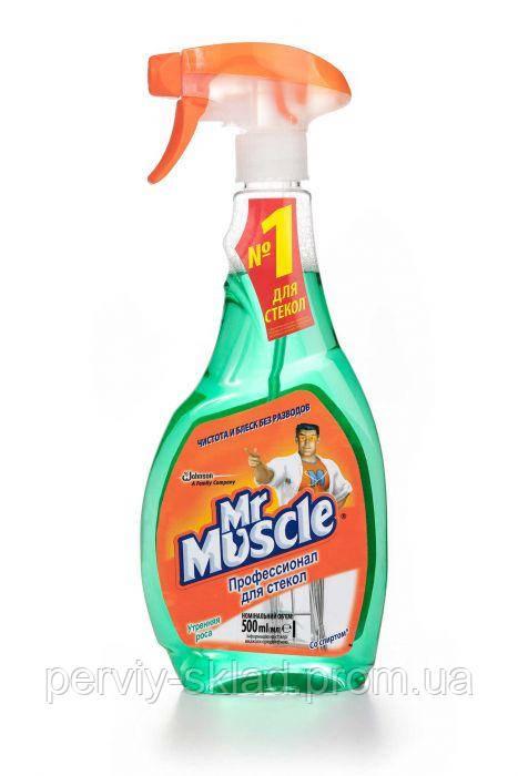 Средство для мытья стекол Mr Muscle 500 мл