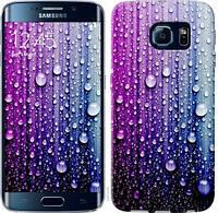 Чехол EndorPhone для Samsung Galaxy S6 Edge G925F Капли воды 3351c-83, КОД: 1018278