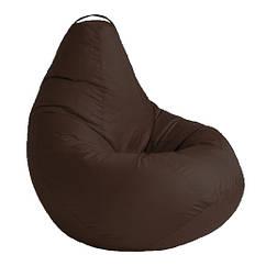 Кресло мешок SOFTLAND Груша для детей M 90х70 см Коричневый SFLD12, КОД: 1310482