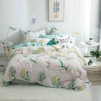 Комплект постельного белья Колоски (двуспальный-евро) Berni