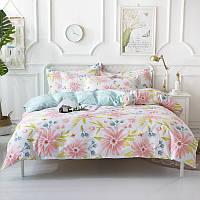 Комплект постельного белья Весенние цветы (полуторный) Berni