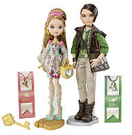 Набор кукол Ever After High Эшлин Элла и Хантер Хантсмен из серии Базовые куклы