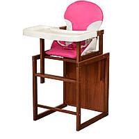 Стульчик для кормления Bambi Розовый 23-SAN2, КОД: 316349