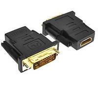 Адаптер HDMI (мама) -DVI (папа) (24+5) Переходник