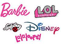 L. O. L., Barbie, Disney, Lala...