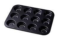 Форма для выпечки 12 кексов Empire EM-9829 gr002652, КОД: 1143418