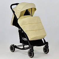 Коляска детская JOY Т 609 Бежевая GBK-011, КОД: 126112