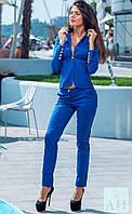 Классический женский костюм пиджак + брюки