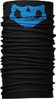 Бандана-трансформер Бафф Щелепа синя Чорний BT118, КОД: 132009