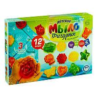 Набор для творчества Danko toys Мыло фигурное DFM-02-01 12 фигурок Разноцветный 2-DFM-02-01-47759, КОД: 1076923