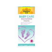 Мультивитамины для детей Baby Care 177 мл ТМ Кантри Лайф / Country Life