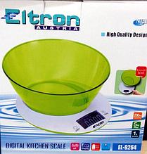 """Весы кухонные с чашей """"ELTRON"""""""