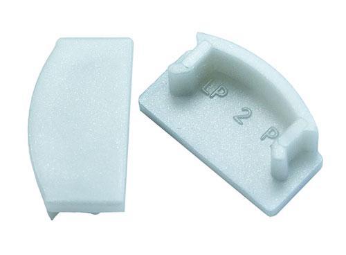 Заглушка ЗП7 глуха на алюмінієвий профіль для світлодіодних стрічок ЛП7 4821