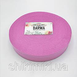 Трикотажная пряжа Barwa в роликах, цвет Пион