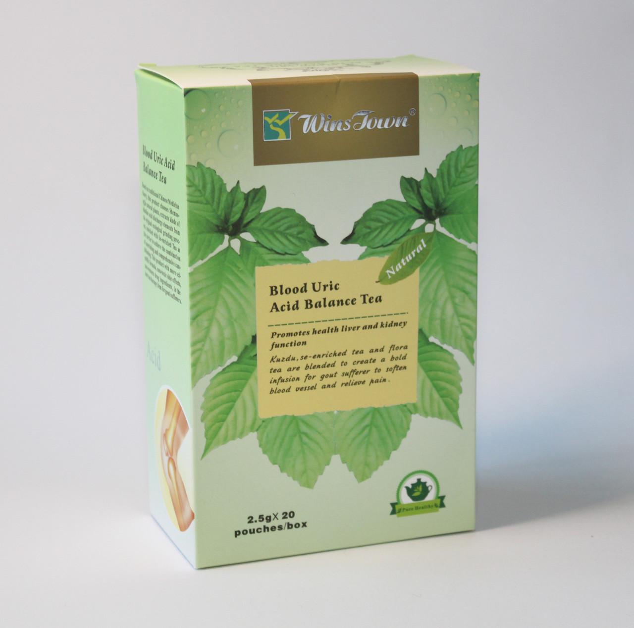 Чай от подагры для баланса мочевой кислоты Blood Uric Acid Balance Tea