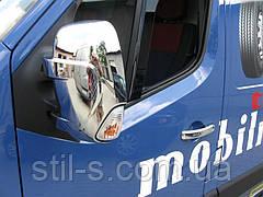Накладки на зеркала для OPEL MOVANO (2010 >)