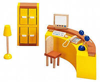 Набор для кукол goki Мебель для офиса Ресепшин 51696G (51696G)