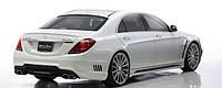 "Спойлер Mercedes S-klass W222   Wald ""Black Bison"""