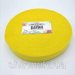 Трикотажная пряжа Barwa в роликах, цвет Одуванчик