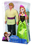 Disney Frozen Анна и Кристофф Замороженные  Anna and Kristoff Doll, 2-Pack, фото 3