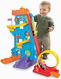 Fisher-Price парк развлечений Little People эко упаковка Loops n Swoops Amusement Park, фото 6