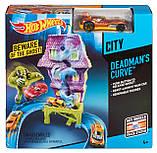 Hot Wheels дом с приведениями Deadman's Curve Track Set, фото 4