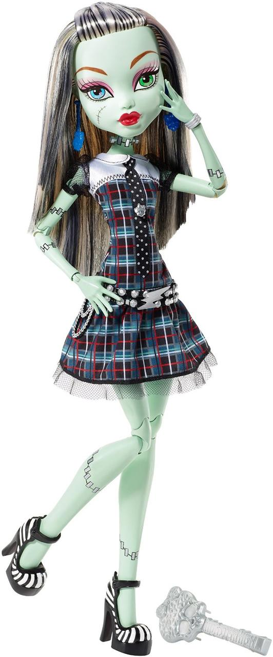 Monster High большая Френки Штейн 43см Frankie Stein Doll Frightfully Tall Ghouls