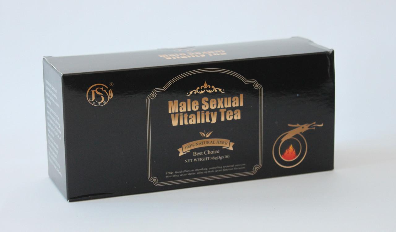 Урологічний чай для сечостатевої системи Male sexual vitality tea