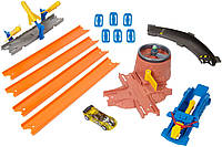 Hot Wheels взрывная миссия Track Builder Blast Mission Track Set