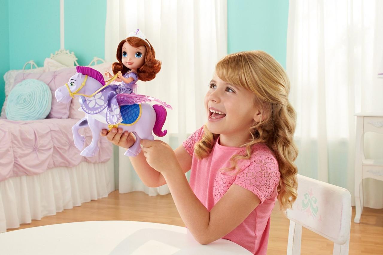 Disney конь Софии Минимус Sofia the First Flying Minimus