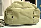 Тактическая EDC сумка-рюкзак однолямочная, с отделением под пистолет. Цвета: олива, койот, чёрный, мультикам, фото 7