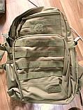 Тактическая EDC сумка-рюкзак однолямочная, с отделением под пистолет. Цвета: олива, койот, чёрный, мультикам, фото 8
