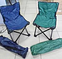 Кресло раскладное Паук стул для рыбалки и пикника синий зеленый