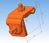 Соединитель универсальный для быстрого монтажа медный толщиной 3 мм.