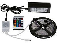 LED Лента RGB 5050 5 метров + Контроллер + Пульт ДУ + Блок Питания