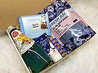 Подарочный набор с шокладкой, подарок любимой девушке, женщине, жене, подруге, сестре, маме, бабушке