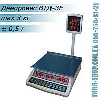 Торговые весы Днепровес ВТД-3Е