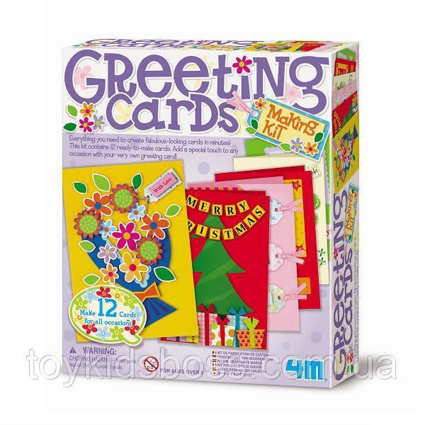 Набор для творчества 4M Поздравительные открытки (00-04559)