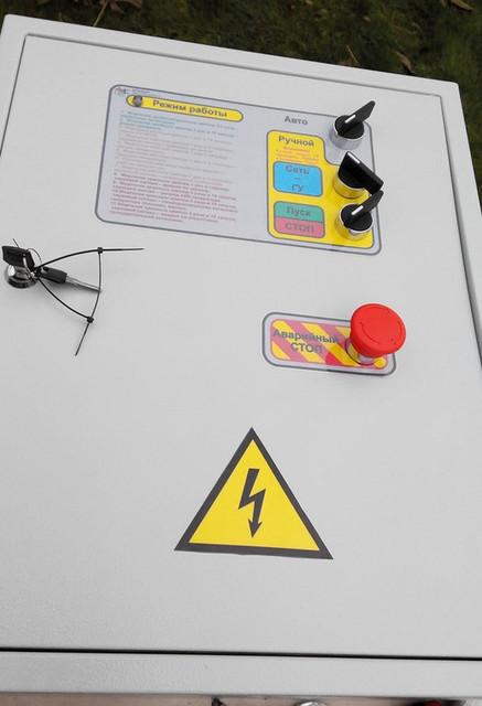 Монтаж АВР для различных типов генераторов
