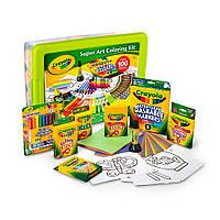 Crayola большой набор для творчества крайола Super Art Coloring Kit - Green