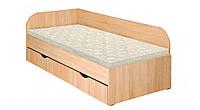 Кровать Пехотин Соня 2 с ящиками Дуб сонома, КОД: 126347