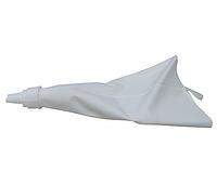 Мешок кондитерский силиконовый с 6 насадками Белый GA-18339psg, КОД: 175808