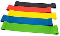 Набор лент-эспандеров для фитнеса 25 см 5 шт Разноцветный 010177799, КОД: 212272