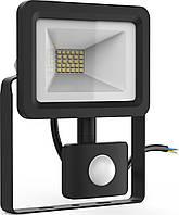 Прожектор с датчиком движения Lumen Led 20 Вт IP65 ПД00290, КОД: 1235459