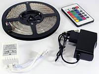 Светодиодная Лента RGB 3528 LED 5 Метров +Контроллер + Адаптер + Пульт ДУ