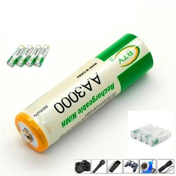 Высокой энергии BTY Ni MH 3000 мАч 1.2 В аккумуляторная батар
