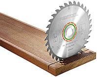 Пильный диск с мелким зубом 160x20x1,8 W32 Festool 500459