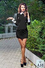 Мини-платье с отложным воротником, фото 2