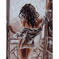 Картина по номерам Женская красота  / пленка 40*50   арт. КНО4602
