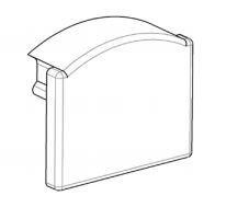 Заглушка ЗП12 глуха на алюмінієвий профіль для світлодіодних стрічок ЛПС12 5361